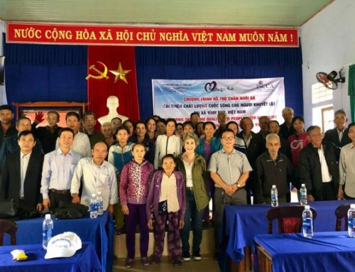 PiCCA member Mary Denver visits Vietnam project